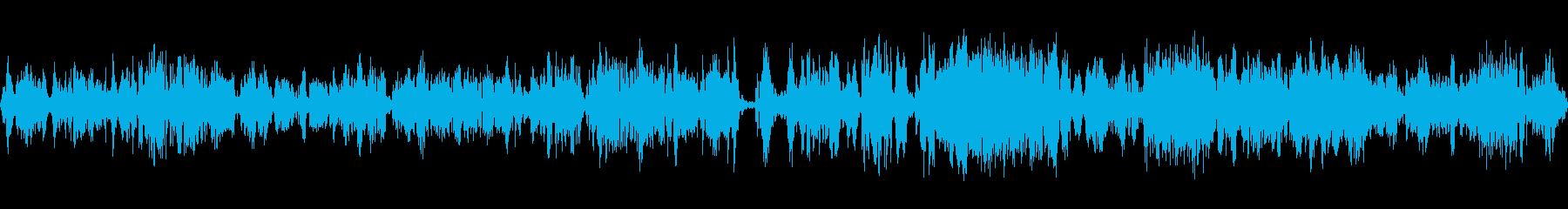 テレビ、静的、テレビでのチャンネルの変更の再生済みの波形