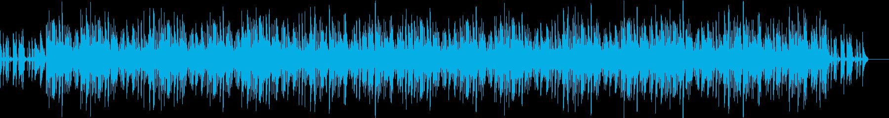 アップテンポで軽快なジャズの再生済みの波形