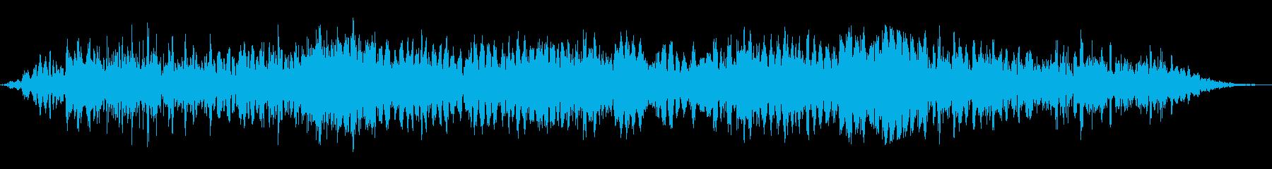 悪魔のような声で話す2の再生済みの波形
