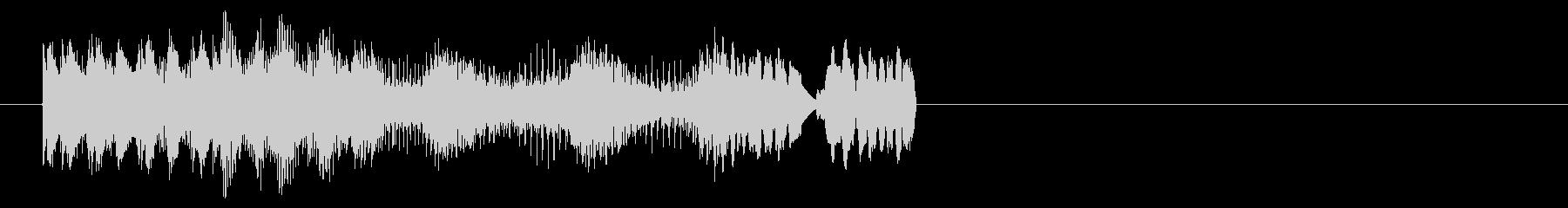 デジタルパワーダウンによるバースト...の未再生の波形