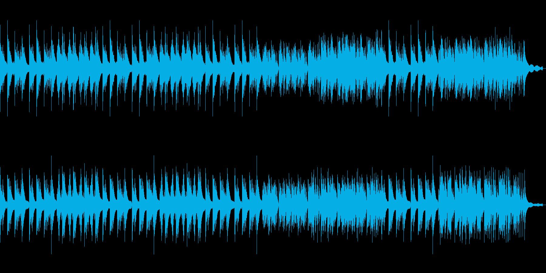 切ないピアノソロ曲の再生済みの波形