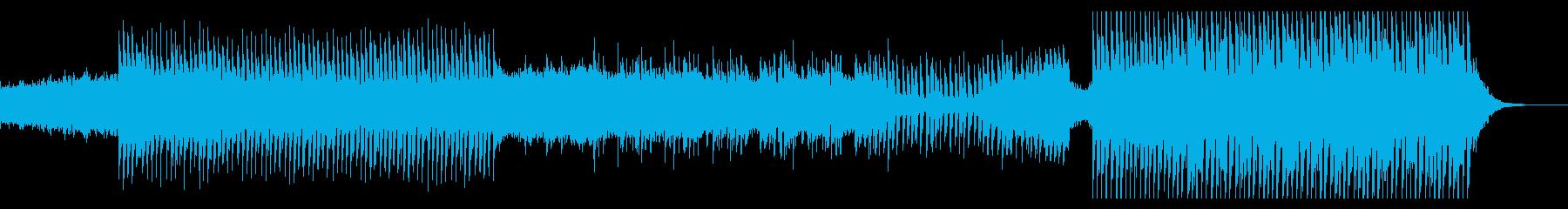 爽やかで軽快なPOP EDMの再生済みの波形