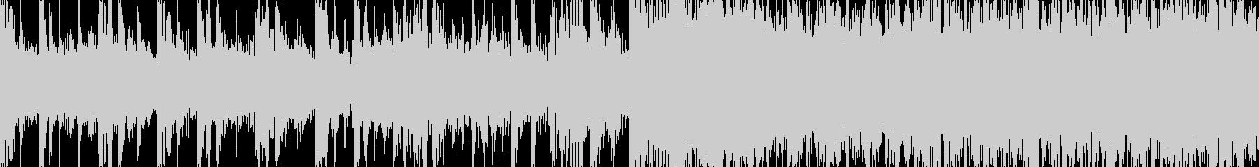 [ジングル][ループ仕様]レトロダンスの未再生の波形