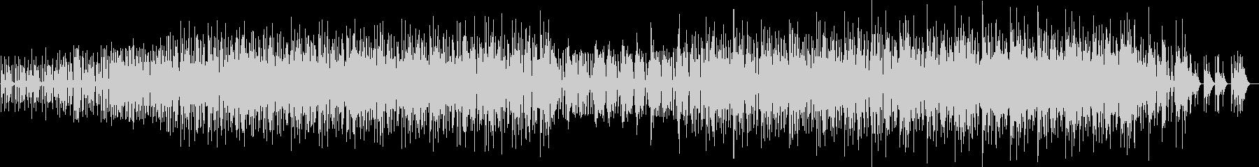 パーカッシブなミニマルファンクの未再生の波形