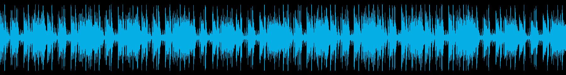 賑やかでかわいげのある日常のBGMの再生済みの波形