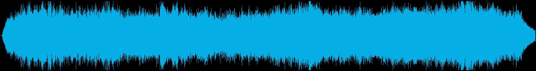 PADS スペース合唱団01の再生済みの波形
