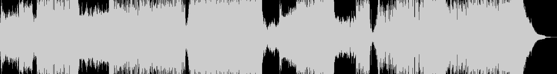 光と闇・ファンタジックなトランス 長尺+の未再生の波形