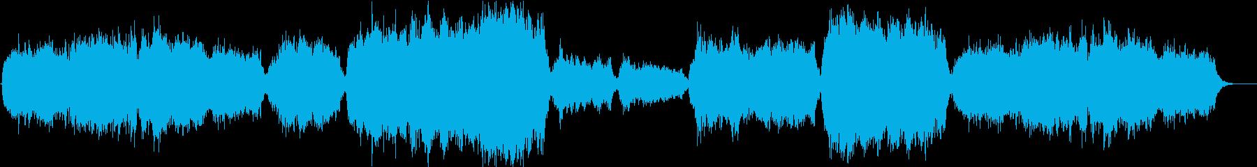 神聖で美しいクアイアの賛美歌が感動的ですの再生済みの波形