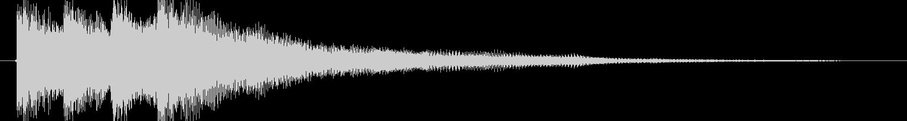明るい  ギター ポップの未再生の波形