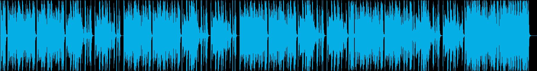 妖しいムードのハウス・テクノの再生済みの波形