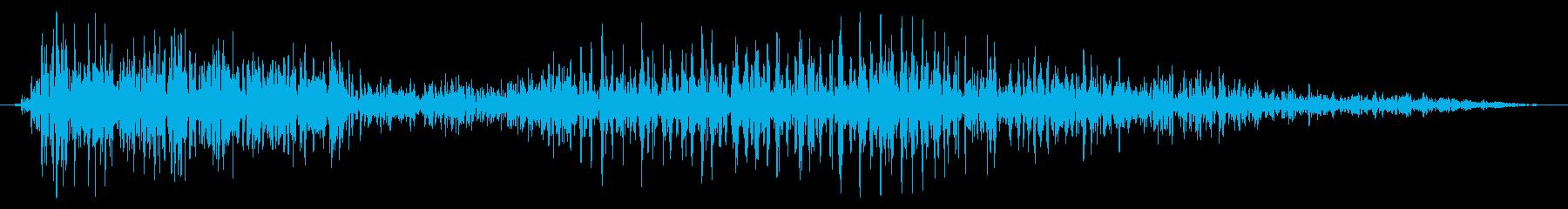 ドラゴン モンスター ダメージ 強の再生済みの波形