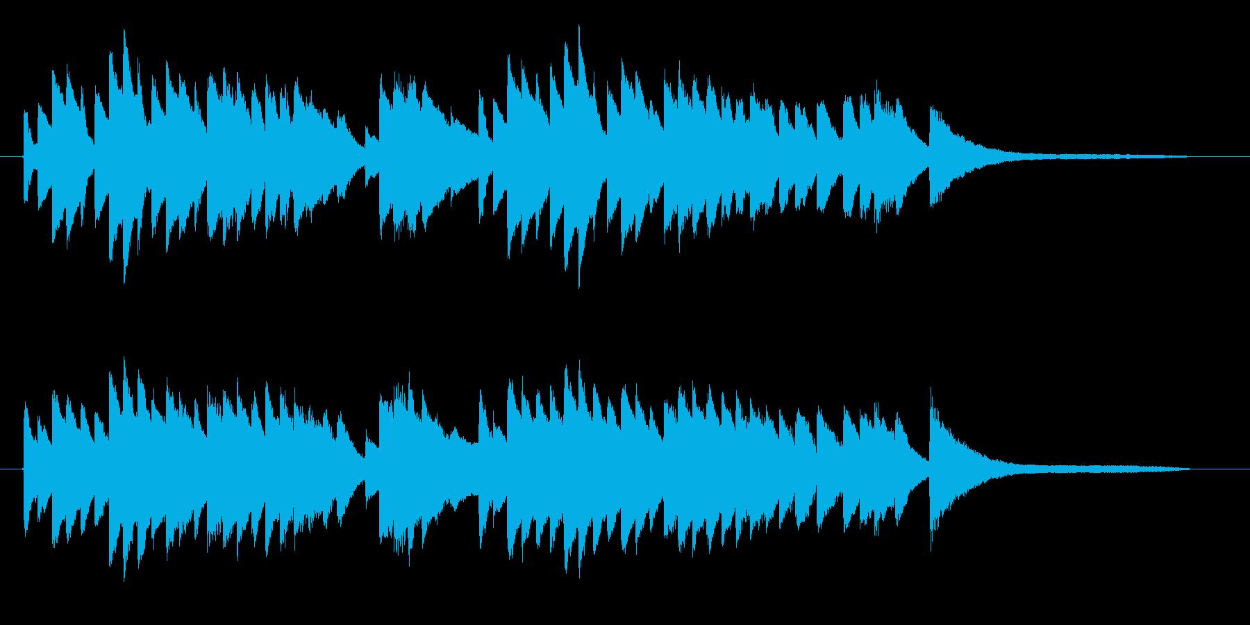 回想シーンにピッタリなピアノソロの再生済みの波形