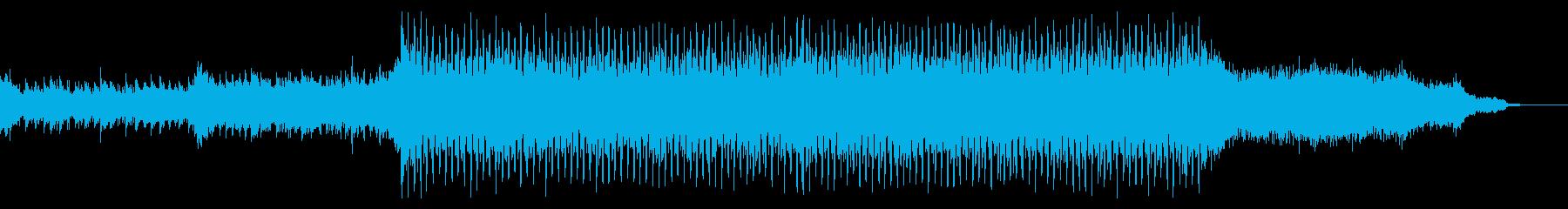 幸せな雰囲気な明るいポップスの再生済みの波形