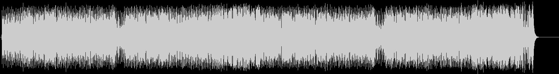 逞しいファンクポップ/ロックの未再生の波形