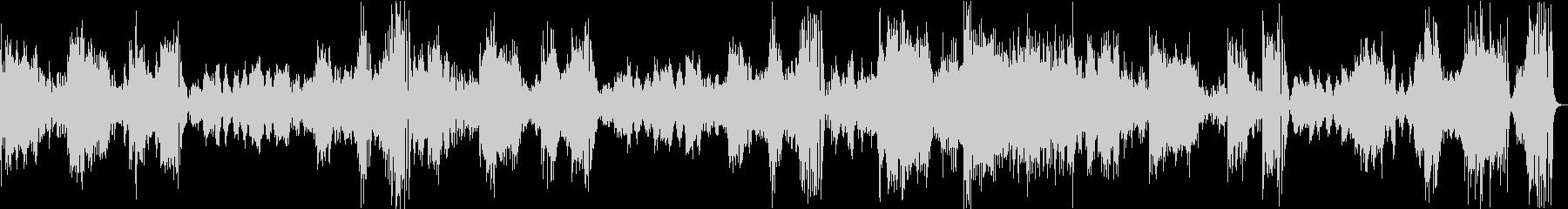 モーツァルトピアノソナタK310第1楽章の未再生の波形