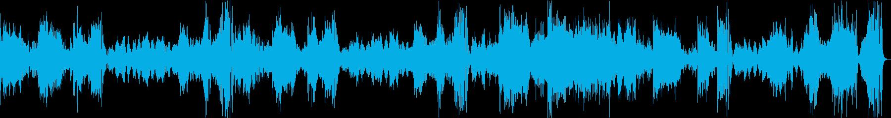 モーツァルトピアノソナタK310第1楽章の再生済みの波形