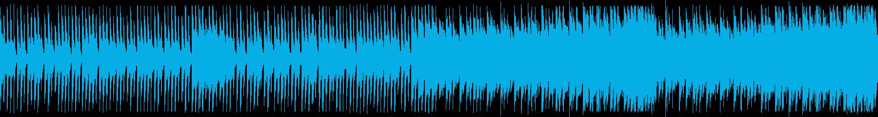 80年代テクノポップ中華風:ショートの再生済みの波形