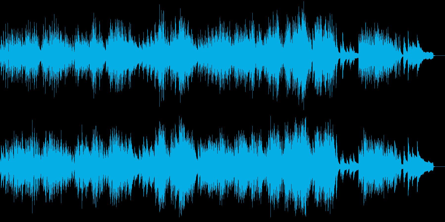 エルガーの人気曲、愛の挨拶です。の再生済みの波形