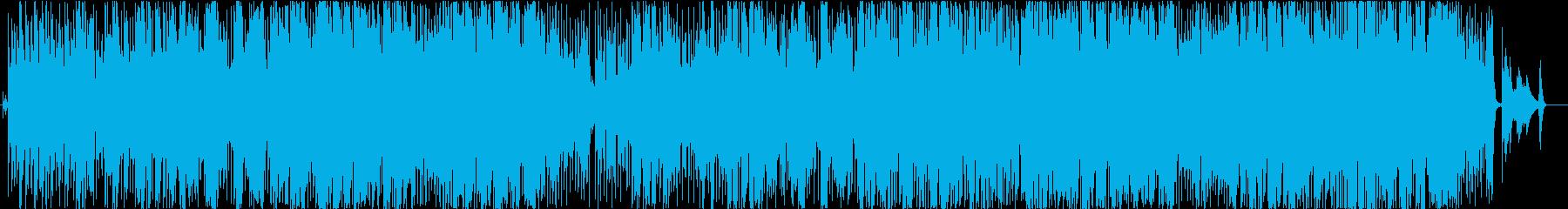 大人のバーをイメージしたジャズソングの再生済みの波形