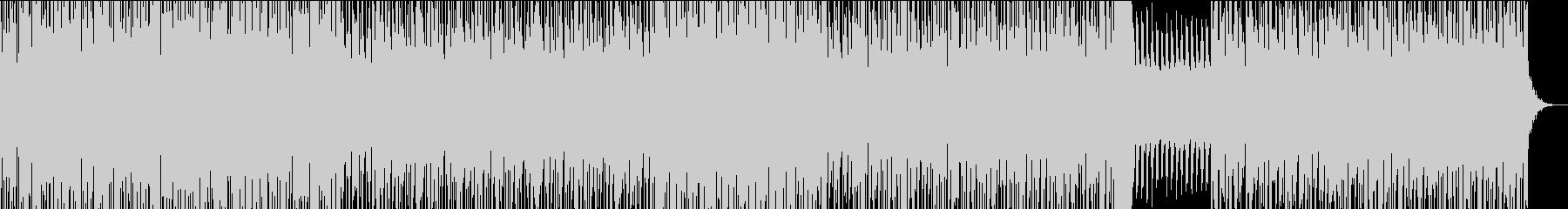 和風の三味線テクノROCKの未再生の波形