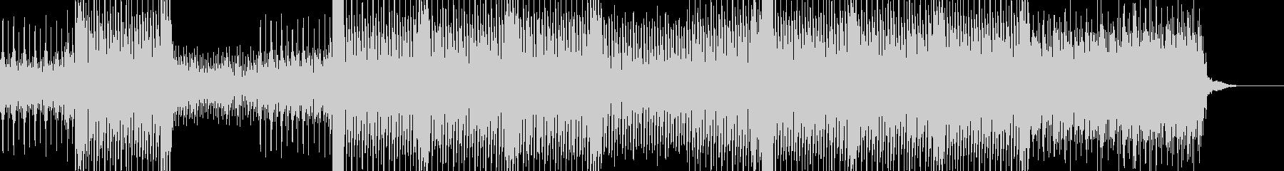 幻想的なハウスアンビエントの未再生の波形