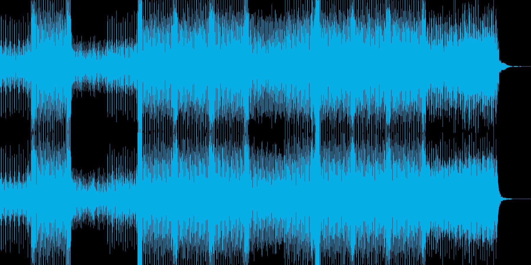 幻想的なハウスアンビエントの再生済みの波形