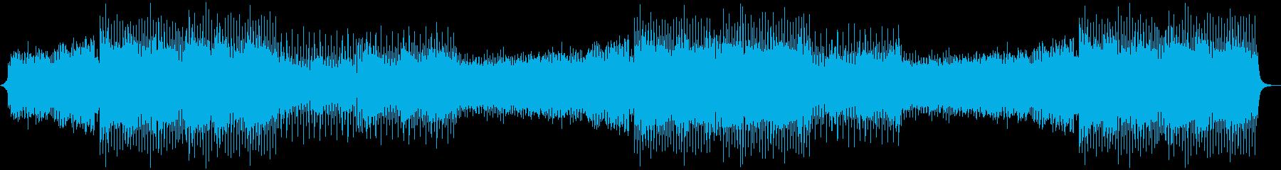 バイオリンなしのバージョンの再生済みの波形