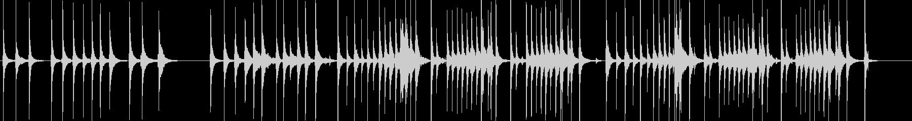 三味線85鷺娘17浮名生音歌舞伎妖怪鷺雪の未再生の波形