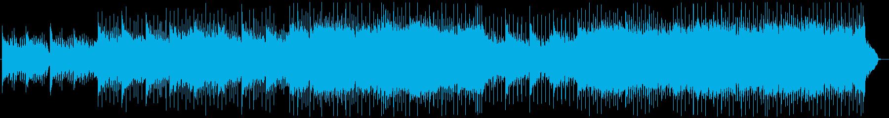 爽やかなピアノメロが印象的なポップスの再生済みの波形