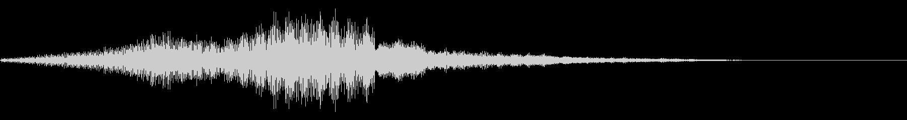 ゲームオーバー(ホラー・ノイズ)3の未再生の波形