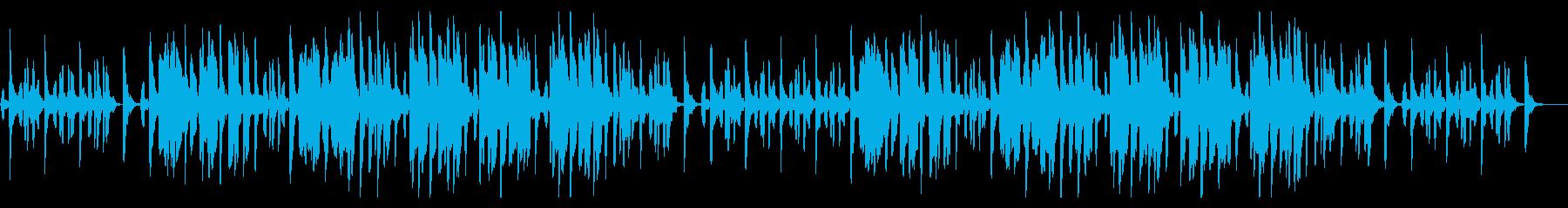 リコーダーとグロッケンのほのぼの日常系の再生済みの波形