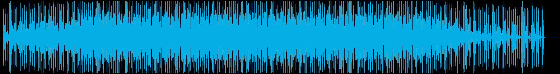 アプリゲームのメニュー画面っぽいBGMの再生済みの波形