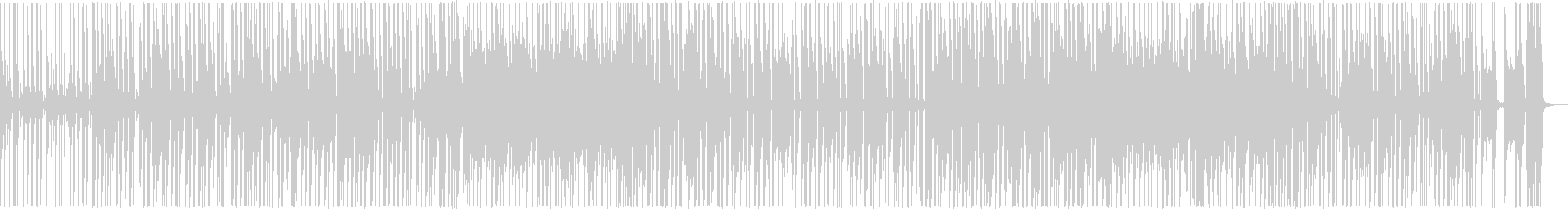 ファンキーなベースとギターのリフが...の未再生の波形