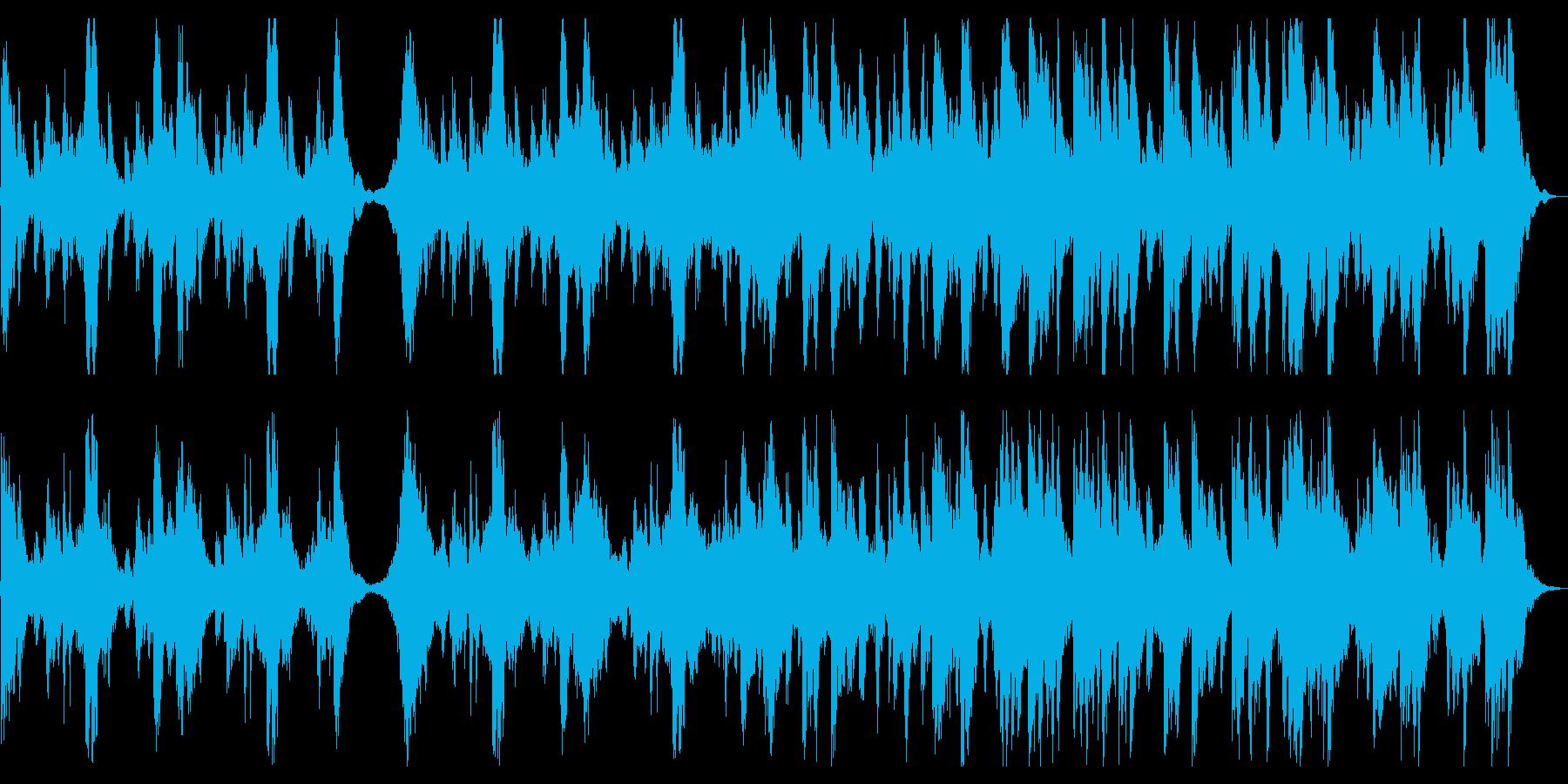 疾走感と迫力ある上質なフルオーケストラの再生済みの波形