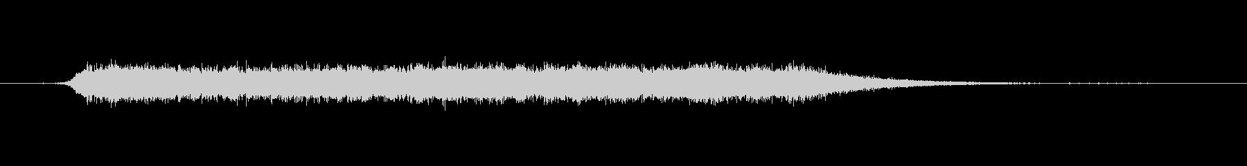 工具_ドリルの動作音6の未再生の波形