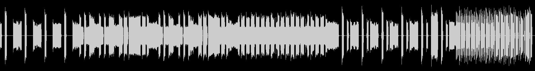 【ループ仕様】脱力系のチープな曲の未再生の波形