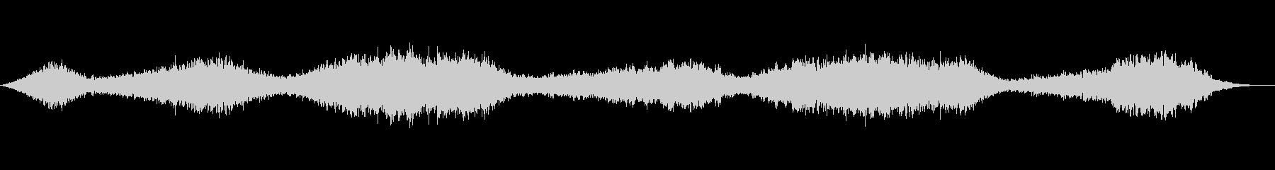 壮大なシネマティックアンビエントBGMの未再生の波形