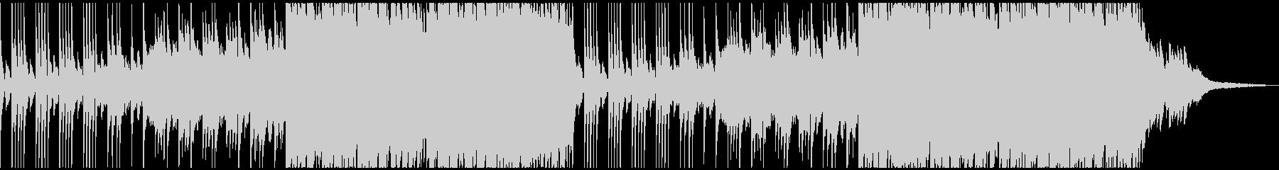 ピアノ ストリングス ヒーリングの未再生の波形
