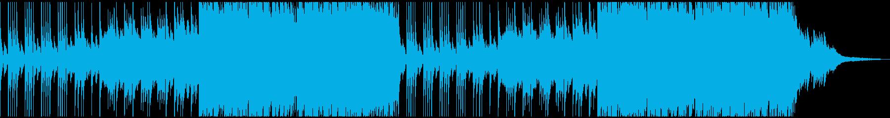 ピアノ ストリングス ヒーリングの再生済みの波形