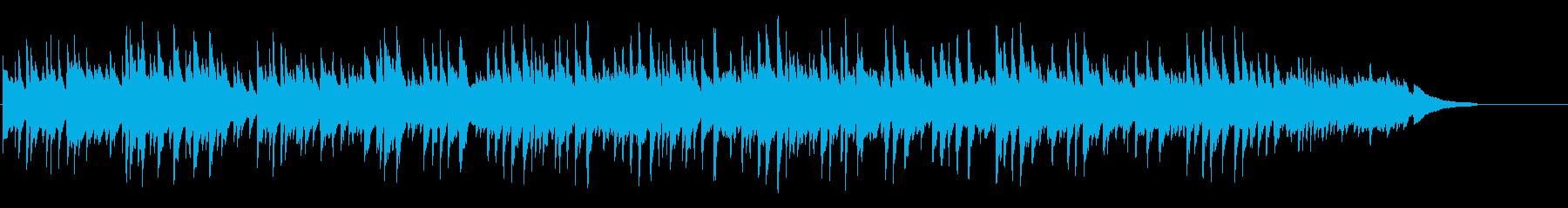 甘いブライダル向けピアノポップバラードの再生済みの波形