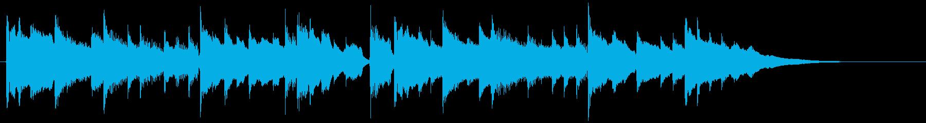 アコギの穏やかで感動的なCM曲A/30秒の再生済みの波形