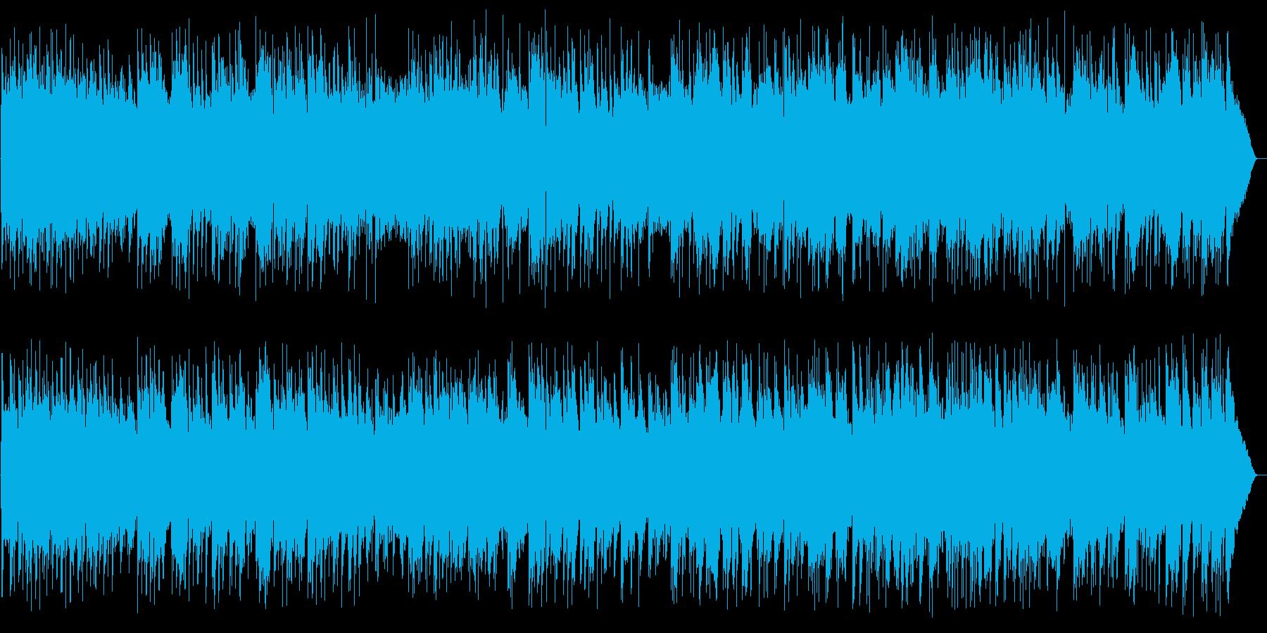 爽やかでゆったりしたギターサウンドの再生済みの波形