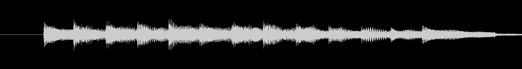 ・シンプルでやわらかい音が特徴のサウン…の未再生の波形