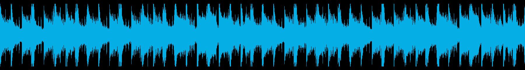 和風で運命的なBGM フルの再生済みの波形