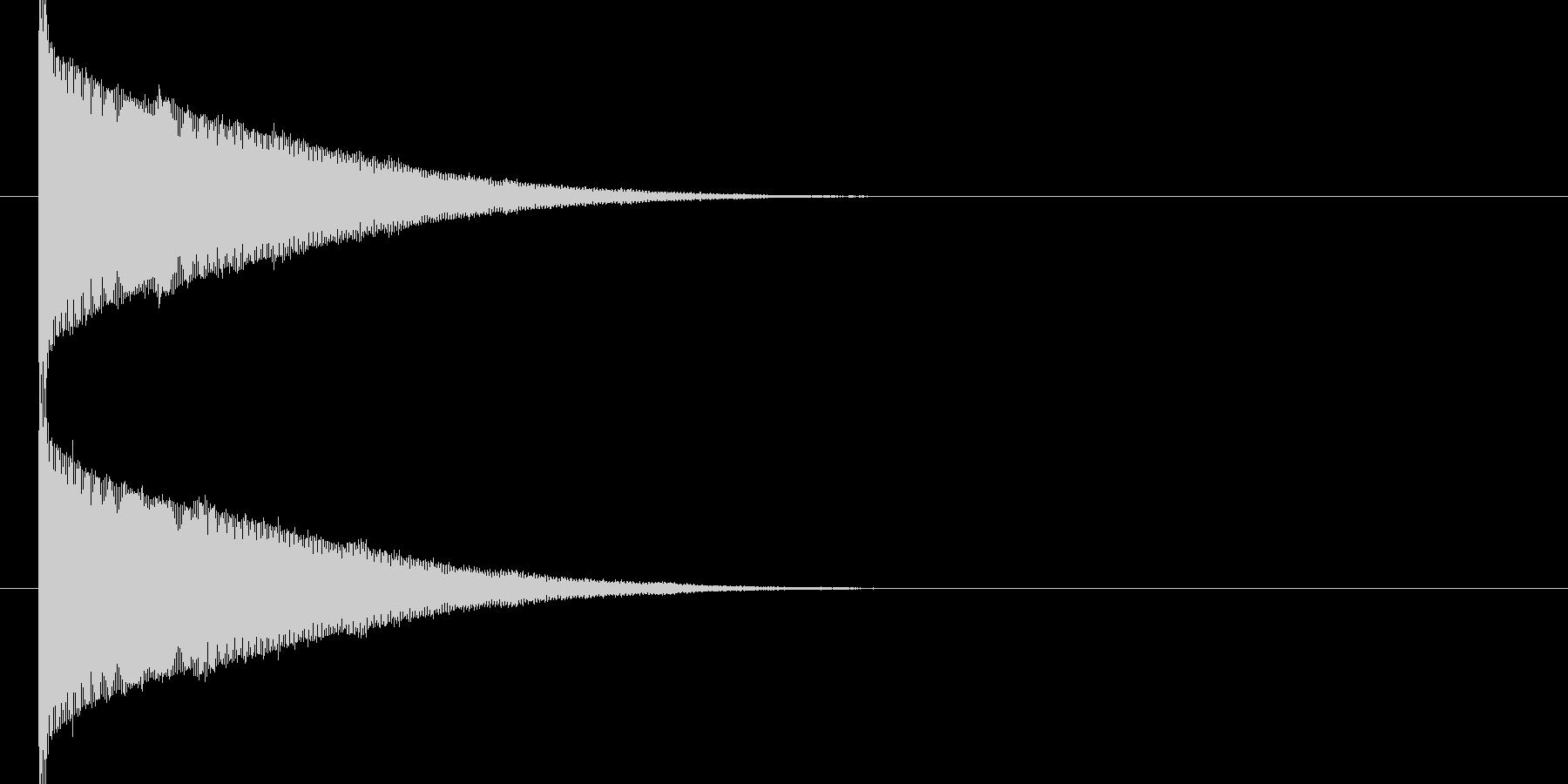 ブーーン(魔法、ビーム音)の未再生の波形