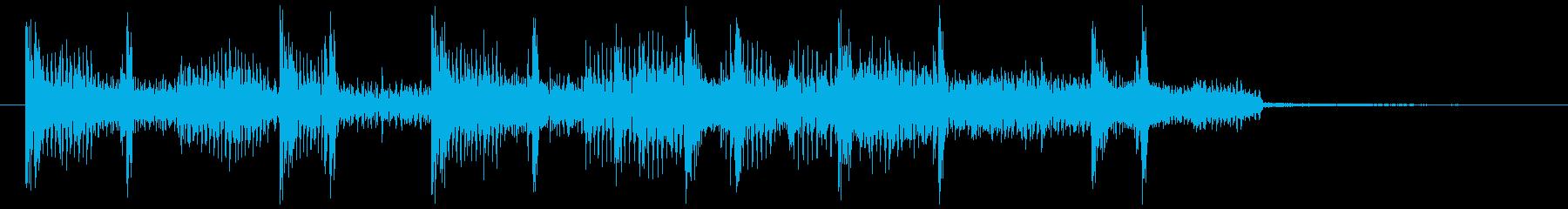 洗練度満点のヒップホップジングルの再生済みの波形