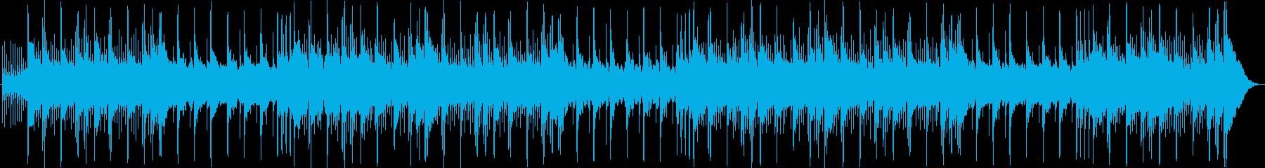 シンセサイザーパッドとシンバルのう...の再生済みの波形
