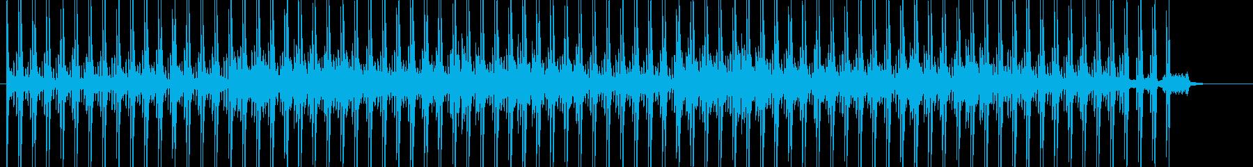 警戒心、ミステリーなテクノ系BGMの再生済みの波形
