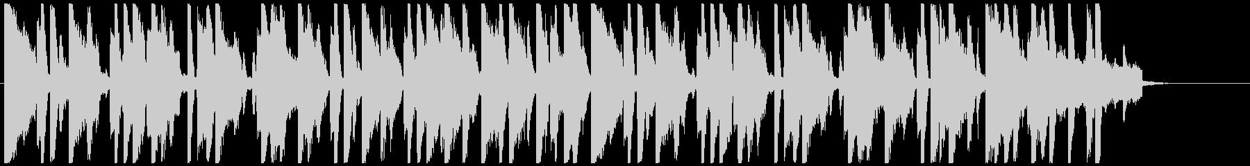 Kawaii系の穏やかな短めのBGMの未再生の波形