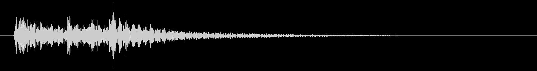 民族系/打楽器/ゲームクリアの未再生の波形